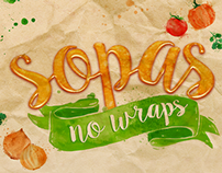 SOUPS AT WRAPS