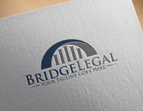 Bridge Legal | Logo Template