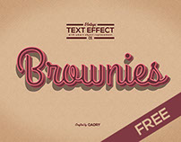 Free - Vintage Text Effect