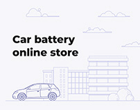 Интернет-магазин АКБ Car battery online store