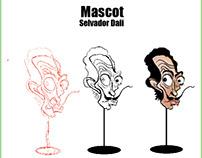 mascot about salvador dali