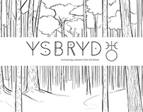 Ysbryd Shop and Packaging Designs