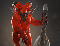 Horned Demon (for lack of a better name)