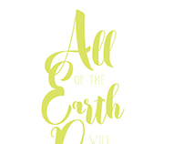 All of the Earth Will Praise Your Name