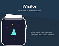iVisitor – Apple Watch App concept