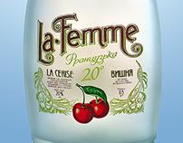 La Femme bottles by DanCo Decor