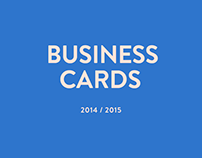 Business Card Pack 2014/15