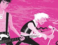 'Johnny & Sid' illustration