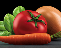 3D Vegetables for Goody • Middle East