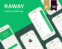 Raway - app for healthy nutrition