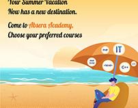 Make your summer vacation super informative.
