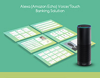 Alexa - Banking Solution - Voice/Touch