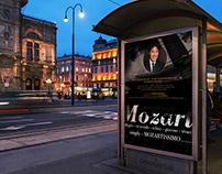Posters for COSIMO PANOZZO concerts in Vienna