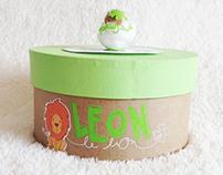 Coffret naissance / Léon le lion