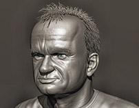 Dominique Pinon bust
