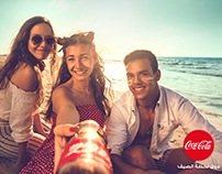 Coca-Cola Summer Retouching