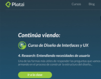 Platzi Redesign Web v2