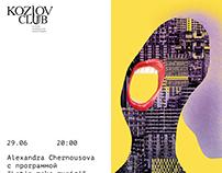 KozlovClub posters. July