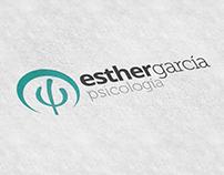 Logitipo y Web para Esther García Psicóloga