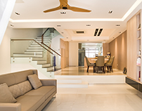 Interior shoot of residential space at Chuan View