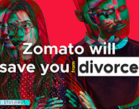 Zomato will save you from Divorce (Product UI)