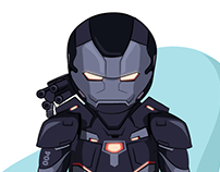 War machine (Marvel Cinematic Universe MCU)