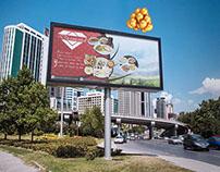 Billboard Advert free PSD
