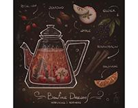 Herbal and Fruit tea recipes