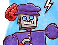"""Renton the Robot"" Page 4"