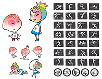 Mascot and Pictogram Design, Nanjing 2014 Youth Olympic