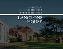 Langton House - Wordpress Website