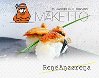 MAKETTO Sushi Bar - Branding