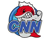 RED FISH - Logo Squadra Nuoto - Centro Nuoto Nichelino