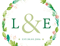 Country Wedding Stationery Design
