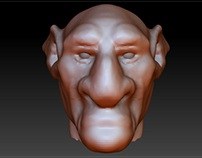 Goblin 2 - sculp.