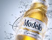 Product Shot cerveza Modelo