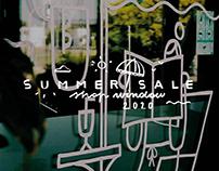 Summer Sale - Shop window illustration
