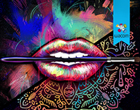 Graphic Lips / Design Lips Make Up For Ever