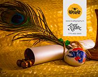 Marathi Calligraphy Wedding Card
