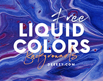 8 Free Liquid Color Backgrounds
