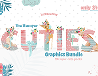 The Bumper Cuties Bundle: 2,100+ Graphics for Only $16