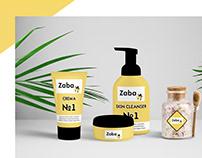 Logo for Zaba (cosmetics store)