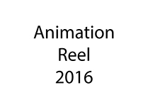 Animation Reel 2017 *UPDATE*