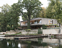 House by the Lake / Carlos Zwick Architekten BDA