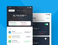 Wallet App - Exploration