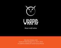 WARPIG - music stuff online