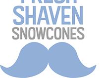 Fresh Shaven Snowcones Logo
