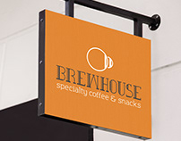 Brewhouse Cafe Branding