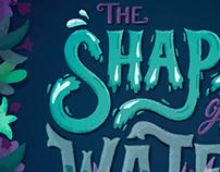The Shape of Water - Fan art poster