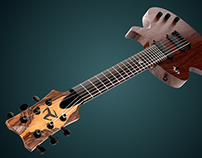 Electric Guitar - Design and CGI